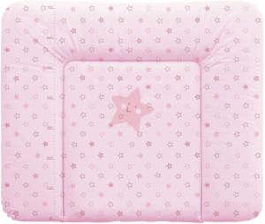Ceba Pelenkázó Lap puha nagy 85x70cm - csillag #rózsaszín 30206361