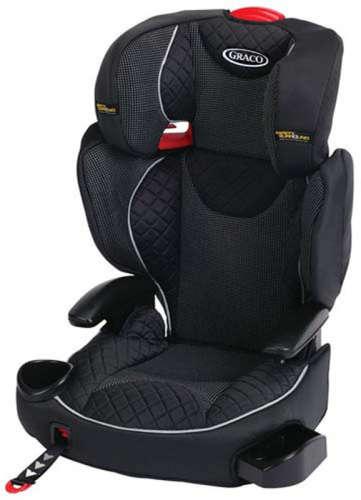 Graco Affix biztonsági autósülés (15-36kg) (fekete) ISOCATCH