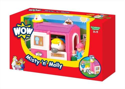 WOW Misty, a ló és Molly, a lovas