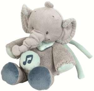 Nattou zenélő Jack Jules & Nestor elefánt 18cm 30206406