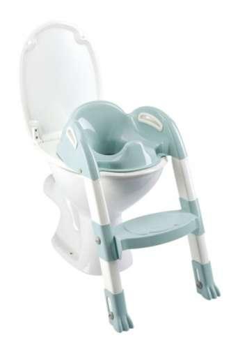 Thermobaby lépcsős wc-szűkítő Kiddyloo (zöld-fehér)