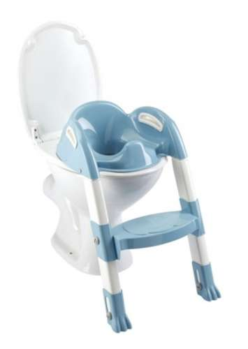 Thermobaby lépcsős wc-szűkítő Kiddyloo (kék-fehér)