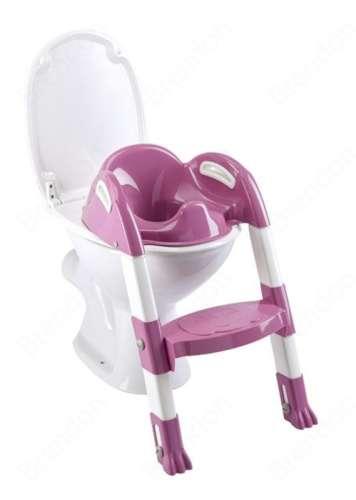 Thermobaby lépcsős wc-szűkítő Kiddyloo (lila-fehér)