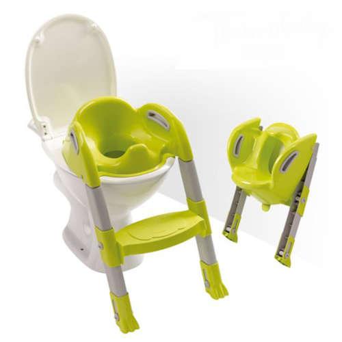 Thermobaby lépcsős wc-szűkítő Kiddyloo (szürke-zöld)