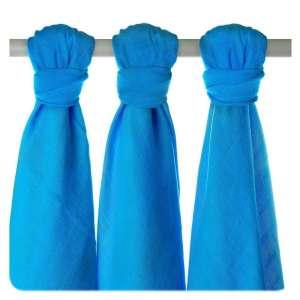 XKKO Bambusz Pelenka 3db#kék 30206585 Textil pelenka