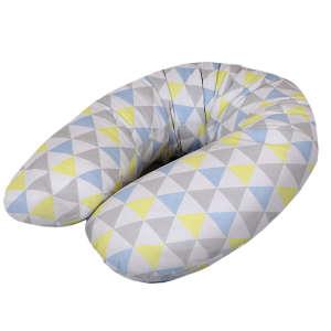 Ceba Szoptatós Párna multi - háromszögek #kék-sárga 30206623