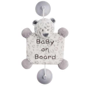 """Nattou plüss """"Baby on Board"""" jelzés 30206641 Baby on board jelzés"""