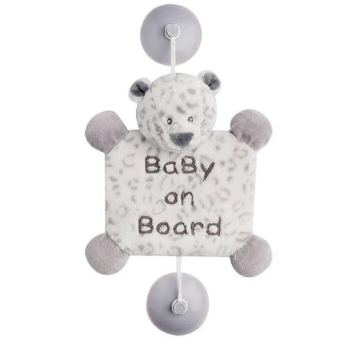"""Nattou plüss """"Baby on Board"""" jelzés"""