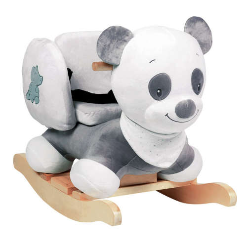 Nattou Hintázó állatka - Panda #fekete-fehér