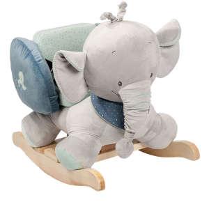 Nattou Plüss hintázó állatka Jack, Jules & Nestor - Jack, az #elefánt