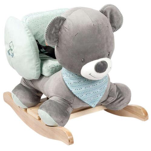 Nattou plüss hintázó állatka Jack, Jules  & Nestor - Jules, a medve --843300