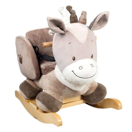 Nattou plüss hintázó állatka Max, Noa & Tom - Noa, a ló --777353