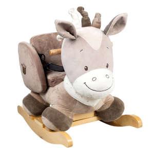 Nattou plüss hintázó állatka Max Noa & Tom - Noa a ló 30206671