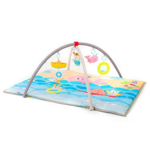 Taf Toys játszószőnyeg játékhíddal Seaside pals baby gym