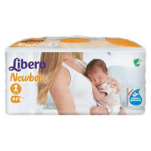 Libero Newborn 1 Pelenka 2-5kg (44db) 30206781 -25kg Pelenka