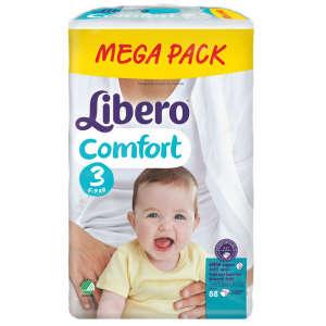 Libero Comfort 3 Pelenka 5-9kg (88db) 30206784 -6kg;-9kg Pelenka