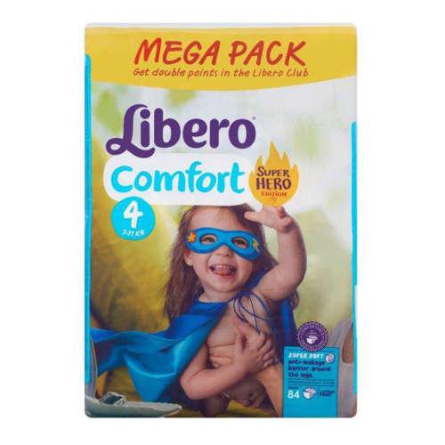 Libero Comfort Pelenka 7-11kg 84db Super Hero 4