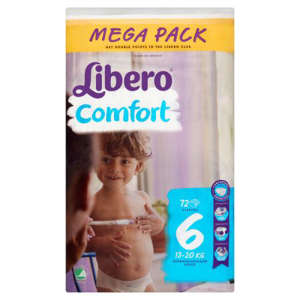 Libero Comfort Pelenka #13-20kg #72db Super Hero #6