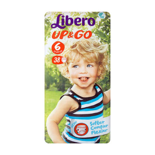 Libero Up&Go Bugyipelenka #13-20kg #38db #6