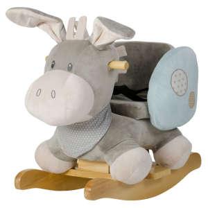 Nattou Plüss Hintázó állatka - Szamár #szürke-kék 30206874 Hintaló, hintázó állatka