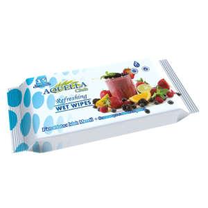 Aquella nedves törlőkendő gyümölcs illattal (15db)