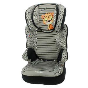 Nania Befix Animals biztonsági ülés (15-36kg) (fekete-szürke) jaguáros