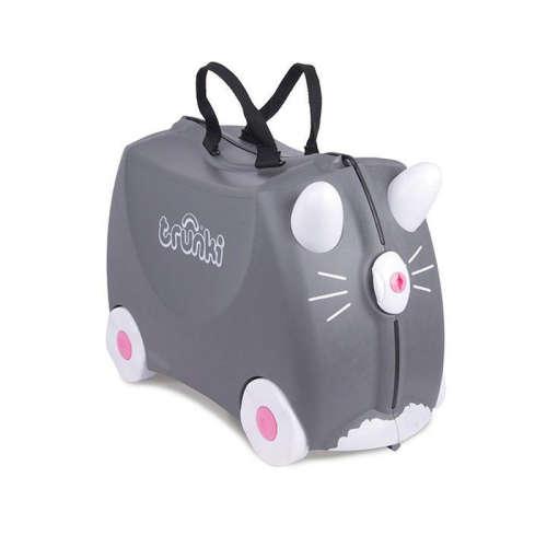 Trunki gyermek bőrönd - Benny, a cica
