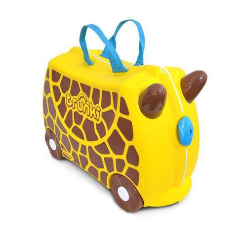 Trunki gyermek bőrönd - Gerry, a zsiráf