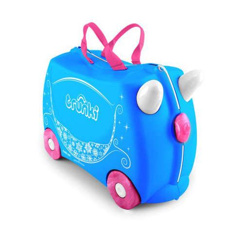 Trunki gyermek bőrönd - Princess Pearl