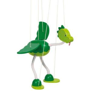 Marionett báb 27cm - Dinó #zöld 30994291 Báb játék