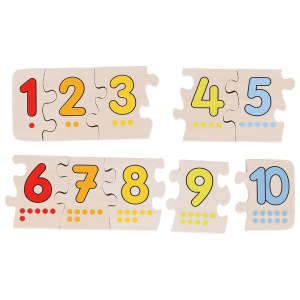Fa Puzzle - Számok 30994211 Puzzle gyereknek