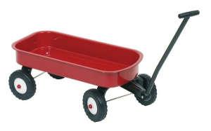 Fém Kézikocsi #piros 30994345 Kiskocsi