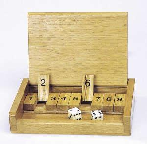 Shut the box kicsi Társasjáték 30994446 Toys Pure Társasjáték
