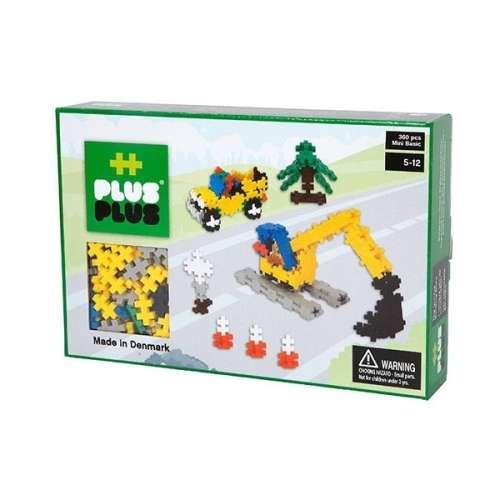 Plus-Plus Basic Építőjáték - Útépítés