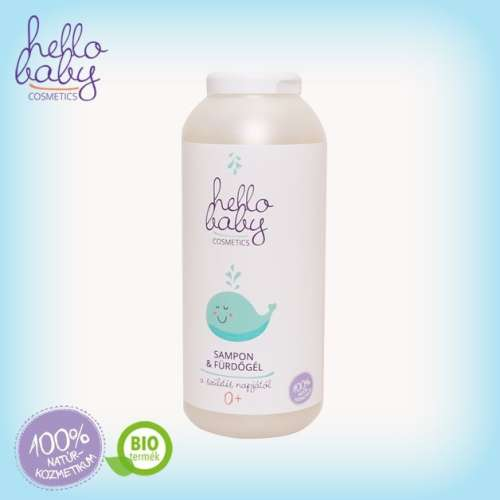 Hello Baby Cosmetics Sampon&Fürdőgél 250ml