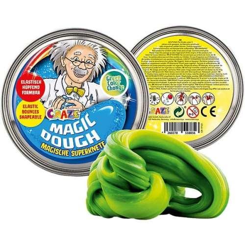 CRAZE Magic Dough - Mágikus gyurma - SZÍNVÁLTÓS ZÖLD