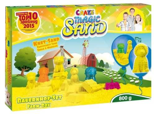 CRAZE Magic Sand homokgyurma - Farm szett 800 g
