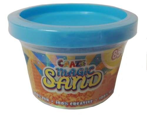 CRAZE Magic Sand homokgyurma - kezdő csomag KÉK 85 g
