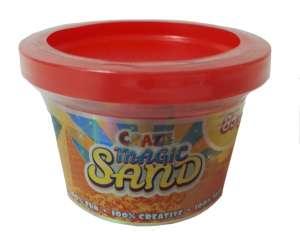 CRAZE Magic Sand homokgyurma - kezdő csomag PIROS 85g