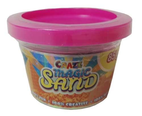 CRAZE Magic Sand homokgyurma - kezdő csomag RÓZSASZÍN 85 g