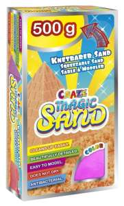 CRAZE Magic Sand homokgyurma - utántöltő csomag #pink 500g