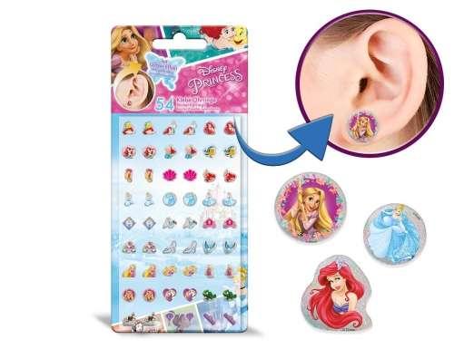 Fülbevalók (öntapadós) - Disney Hercegnők