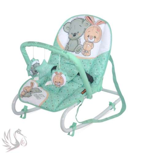 Lorelli Top Relax pihenőszék 2017 Green&Grey Friends