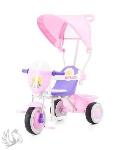 Chipolino Spring Tricikli #rózsaszín