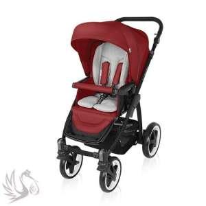 Baby Design Lupo Comfort #2in1 multifunkciós Babakocsi #2016 Dark #piros