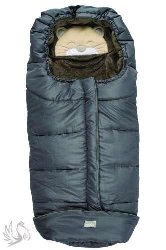 Nuvita 9605 Gyermek bundazsák - Cicás #sötétszürke-szürke