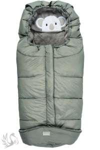 Nuvita 9605 Gyermek bundazsák - Koalás melanzs ezüst/szürke