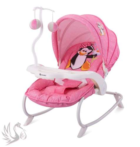 Lorelli Dream Time Pihenőszék #2016 #rózsaszín #pingvin