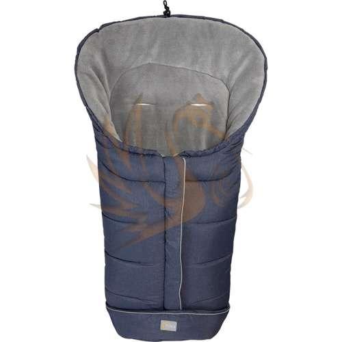 Fillikid bundazsák K2 babakocsiba 100*50cm melange kék