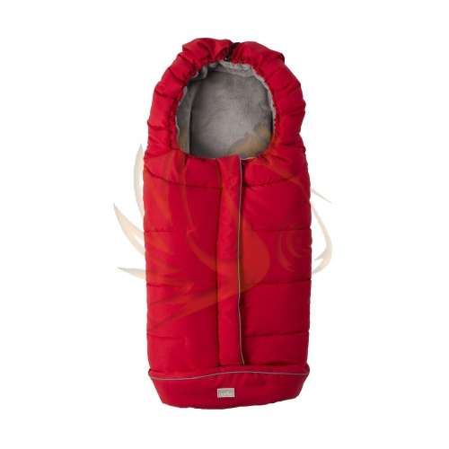 Nuvita City bundazsák #100cm #piros #szürke